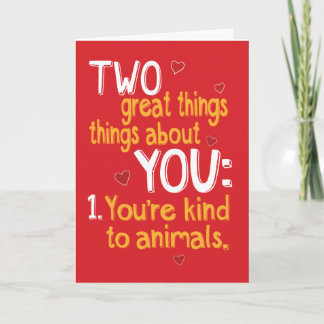 Funny and Slightly Naughty Valentine's Day Card