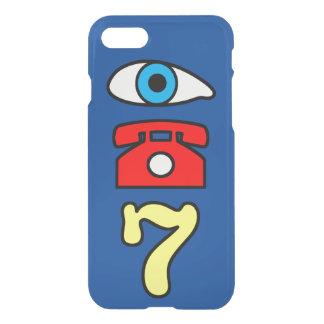 Funny and Unique Primary Color iPhone 7 Rebus iPhone 8/7 Case
