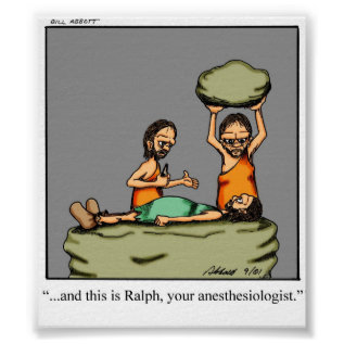 Funny Anesthesiologist Poster at Zazzle