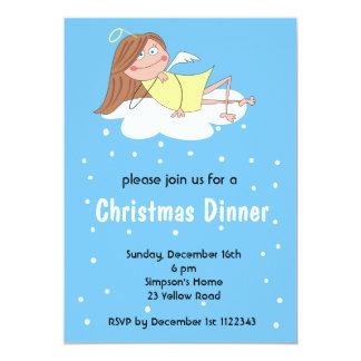 Funny Angel Christmas Invitations
