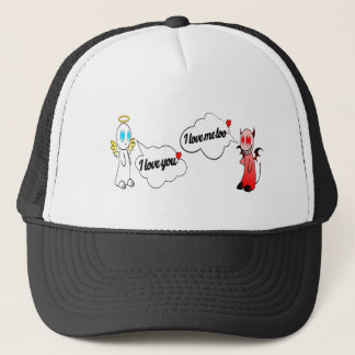 Funny Angels Quote Love Trucker Hat