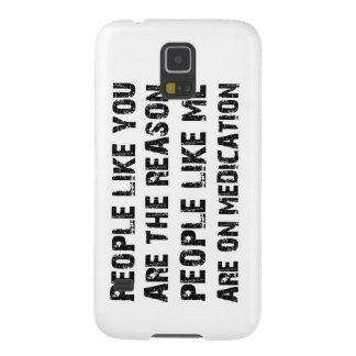 Funny anger designs cases for galaxy s5