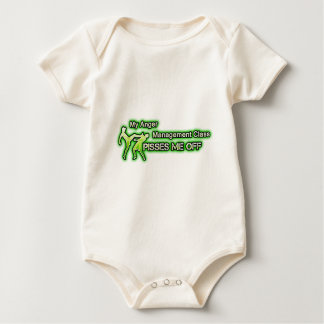 Funny Anger Management Baby Bodysuit