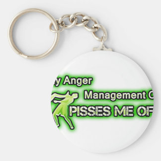 Funny Anger Management Key Chains