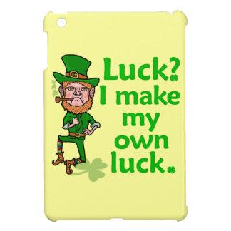 Funny Angry Lucky Irish Leprechaun iPad Mini Cases