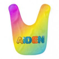 funny animal- Aiden Baby Bib