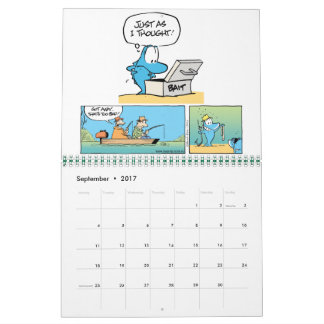Funny Animal Cartoon Calendar