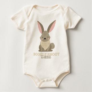 Funny Animal Meme Boople Snoot RABBIT Baby Bodysuit