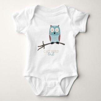 Funny Animal Meme Cat Bird OWL Baby Bodysuit