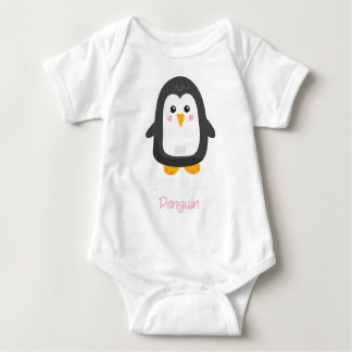 Funny Animal Meme Formal Chicken PENGUIN Baby Bodysuit
