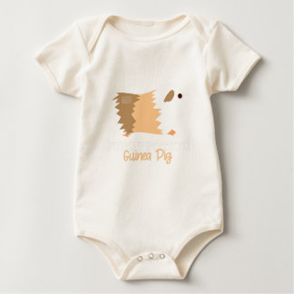 Funny Animal Meme Furry Potato GUINEA PIG Baby Bodysuit