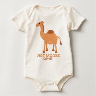 Funny Animal Meme Hot Moose CAMEL Baby Bodysuit