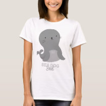 Funny Animal Meme Sea Dog SEAL T-Shirt