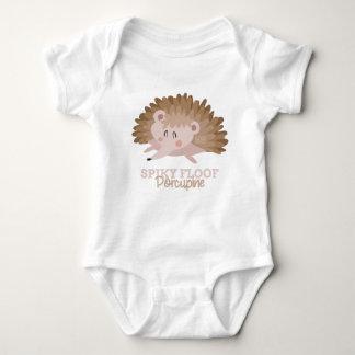 Funny Animal Meme Spiky Floof PORCUPINE Baby Bodysuit