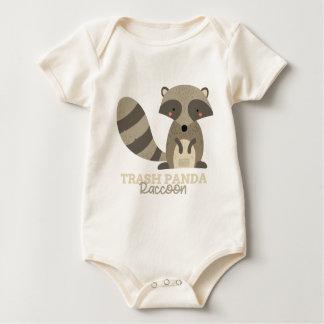 Funny Animal Meme Trash Panda RACCOON Baby Bodysuit
