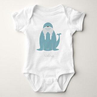 Funny Animal Meme Word Bank WALRUS Baby Bodysuit