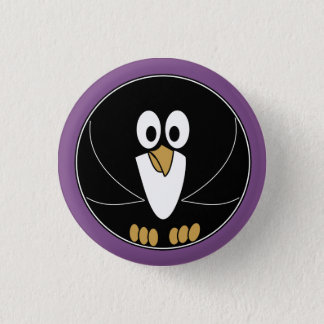 Funny animal - Penguin Button