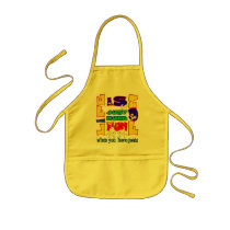 Funny Animal Saying  Goat Humor Kids' Apron