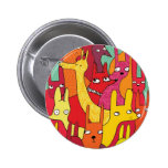 Funny animals pinback buttons