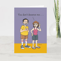 Funny Anniversary Card for Him