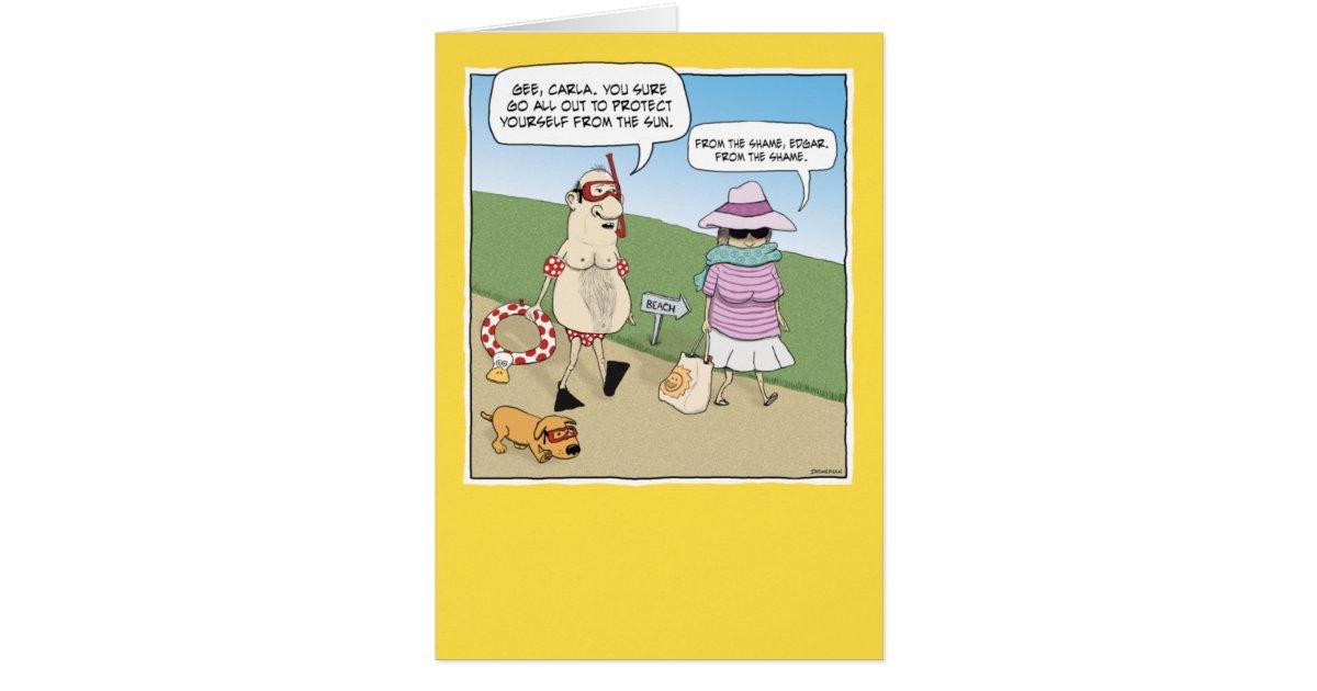 Funny anniversary card shame zazzle