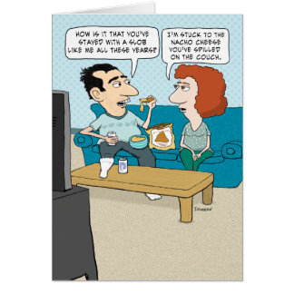 funny husband wedding anniversary cards zazzle