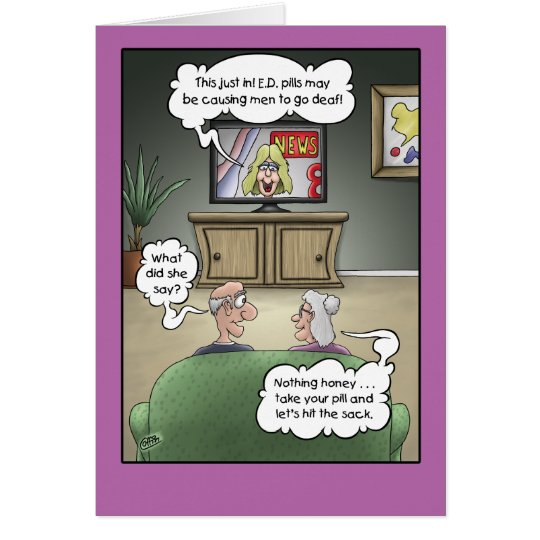 Funny Anniversary Cards Hard Of Hearing Card Zazzle Com