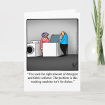 Funny Anniversary Greeting Card for Them