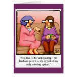 Funny Anniversary Humor Greeting Card