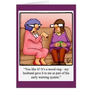 Funny Anniversary Humor Greeting Card