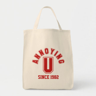 Funny Annoying You Bag, Red