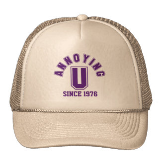 Funny Annoying You Hat, Purple