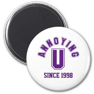 Funny Annoying You Magnet, Purple