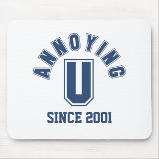 Funny Annoying You Mousepad, Blue