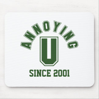 Funny Annoying You Mousepad, Green