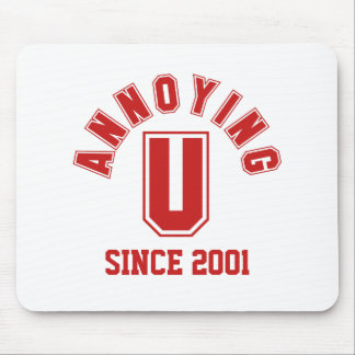 Funny Annoying You Mousepad, Red
