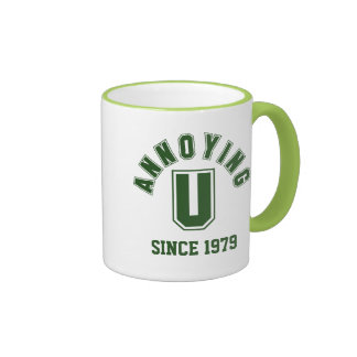 Funny Annoying You Mug, Green