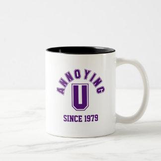 Funny Annoying You Mug, Purple