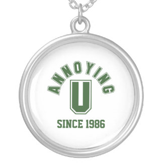 Funny Annoying You Necklace, Green