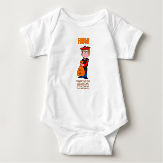 Funny Anti Democrat Kids Halloween Baby Bodysuit