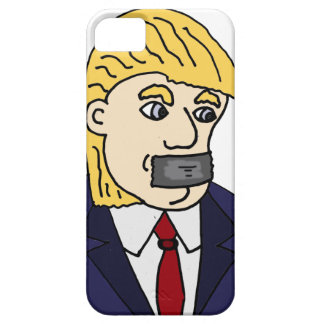 Funny Anti Donald Trump Political Cartoon iPhone SE/5/5s Case