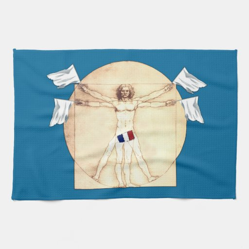 Funny anti French Hand Towel
