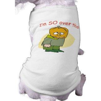Funny Anti Halloween petshirt