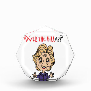 Funny Anti Hillary Clinton Political Art Award