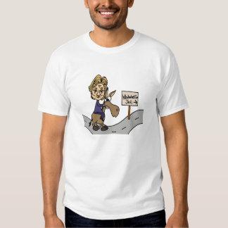 Funny Anti Hillary Political Cartoon T-Shirt