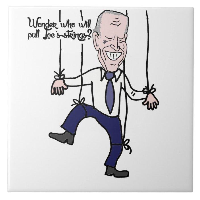 Image result for biden a puppet cartoon
