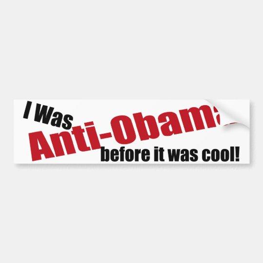 Funny Anti-Obama Bumper Sticker