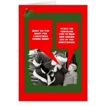 Funny anti Obama Christmas Card