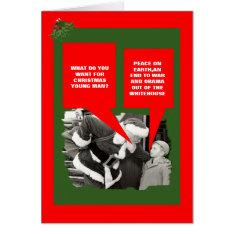 Funny Anti Obama Christmas Card at Zazzle