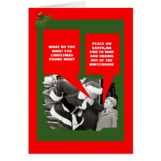 Funny anti Obama Christmas Card